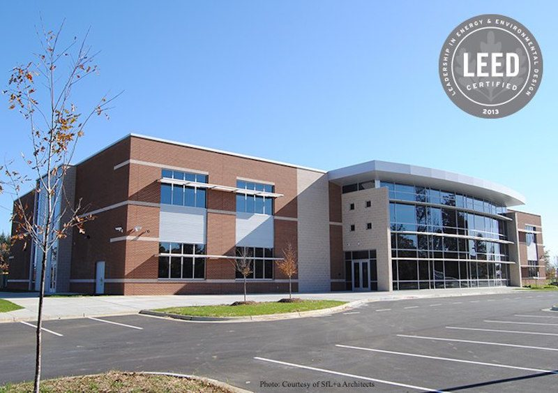 Alamance Burlington Career and Technical Education Center Exterior