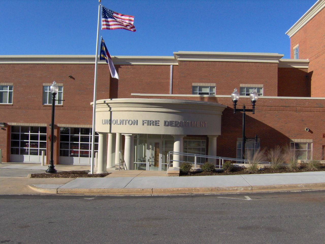 Lincolnton County City Hall and Fire Department
