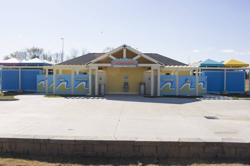 Carowinds' Carolina Harbor Bathhouse